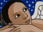 ANITA KLEIN ANGEL WITH STARS