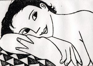 Resting by Anita Klein