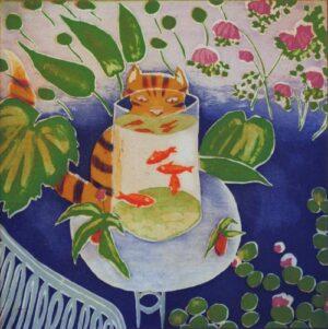 Matisse's cat by Mychael Barratt