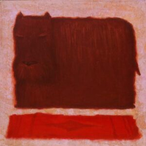 Rothko's dog Mychael Barratt