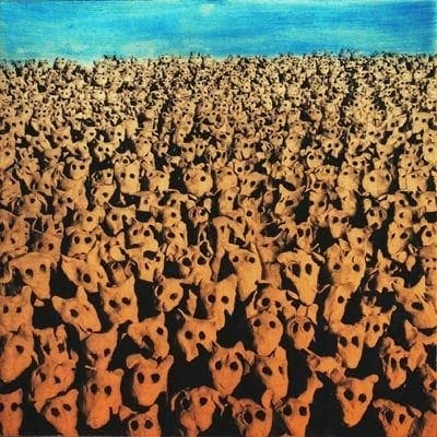 Print-Mychael Barratt-Anthony Gormley's dog