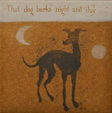 Print-Mychael Barratt-Cole Porter's dog