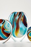 Turquoise Paridiso Glass Forms by Peter Layton