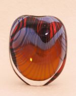 Garrowby blown glass vase by Peter Layton 246
