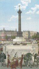 Paris- Aquarium signed limited edition silkscreen print by Godfather of Pop Sir Peter Blake