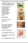York St Leonards Charity Art Prize Draw 2013