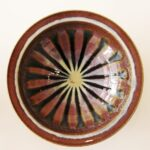 30cm diameter stoneware bowl by Hannah Arnup