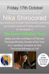 Nika Shirocorad plays piano for Karen Hilltribes Trust