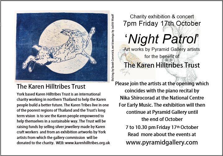 Exhibition for the Karen Hilltribes Trust
