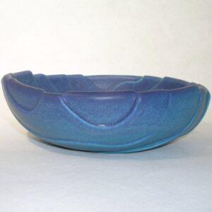 Cut Wave Bowl 3 ceramic by Richard Baxter.