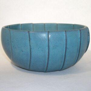Cut Wave Bowl 2 ceramic by Richard Baxter.