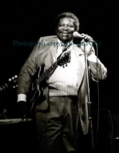 BB King by Ian Astle