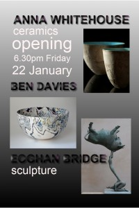 Exhibition opens Friday 22 January
