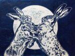 linocut print by Sarah Cemmick