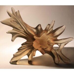 Glass sculpture by Crispian Heath