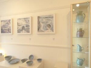 Selection of Gerry Grant's ceramics