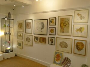 Exhibition of John Mills paintings and sculpture
