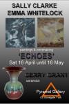 openng Sat 16 April at 11am Sally Clarke Emma Whitelock Gerry Grant