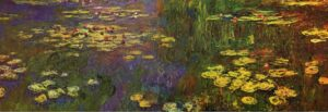 Claude Monet Water lilies (1920 - 1926)
