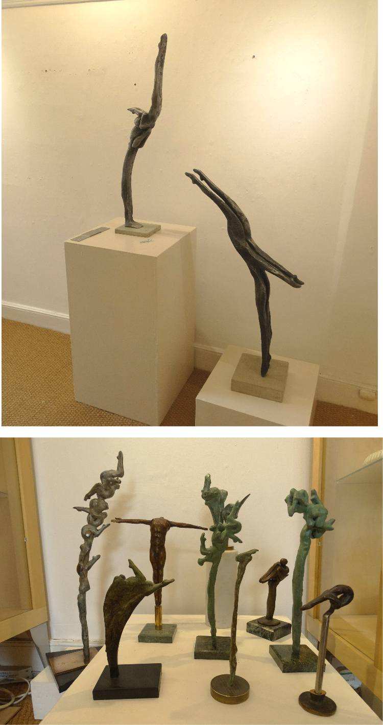 John Mills sculpture Divers
