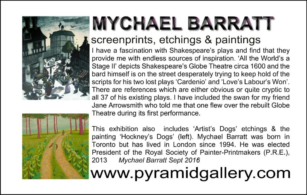 Mychael Barratt and William Shakespeare