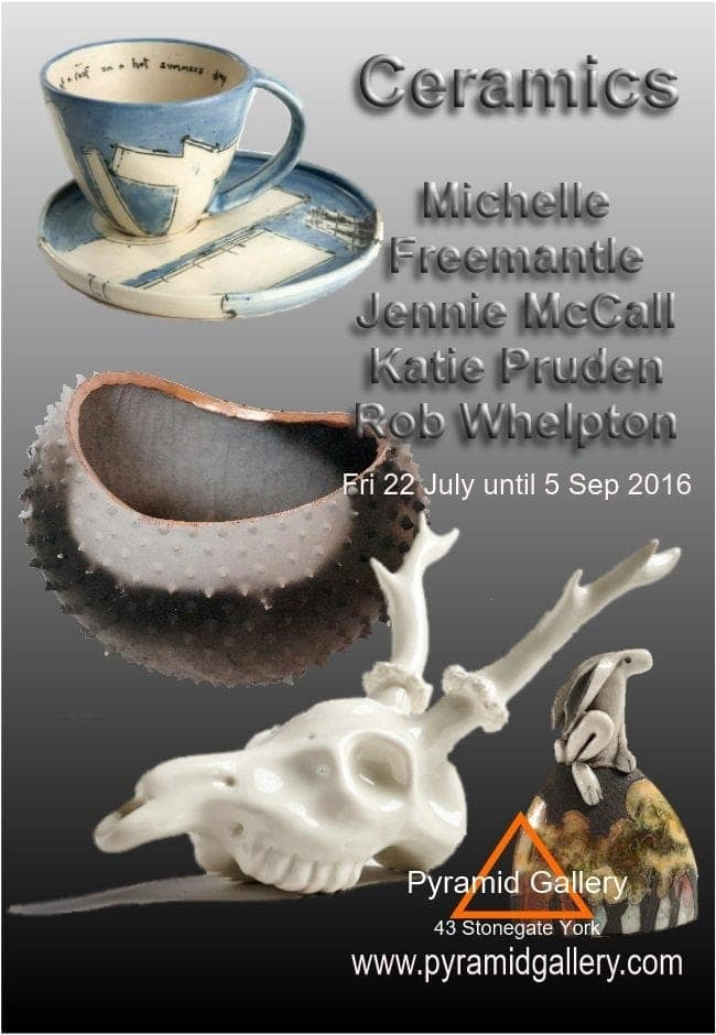 Summer ceramics exhibition 2016