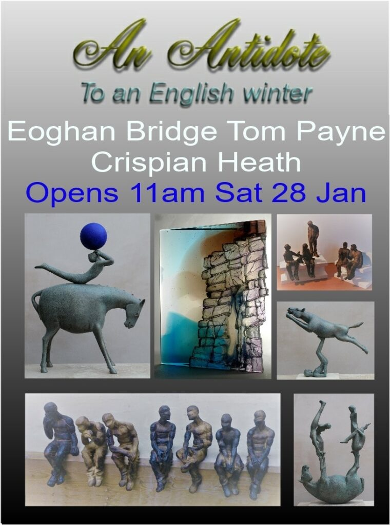 Exhibition starts sat 28th and continues until 12 March 2017