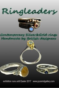 Twenty jewellery designers show innovative rings in silver and gold