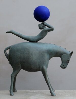 Eoghan-Bridge-horse-Blowing-bubbles-sculpture