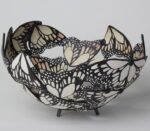 Raku fired ceramic by Fiona Mazza.
