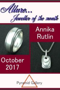 Annika Rutlin Allure jeweller of the month