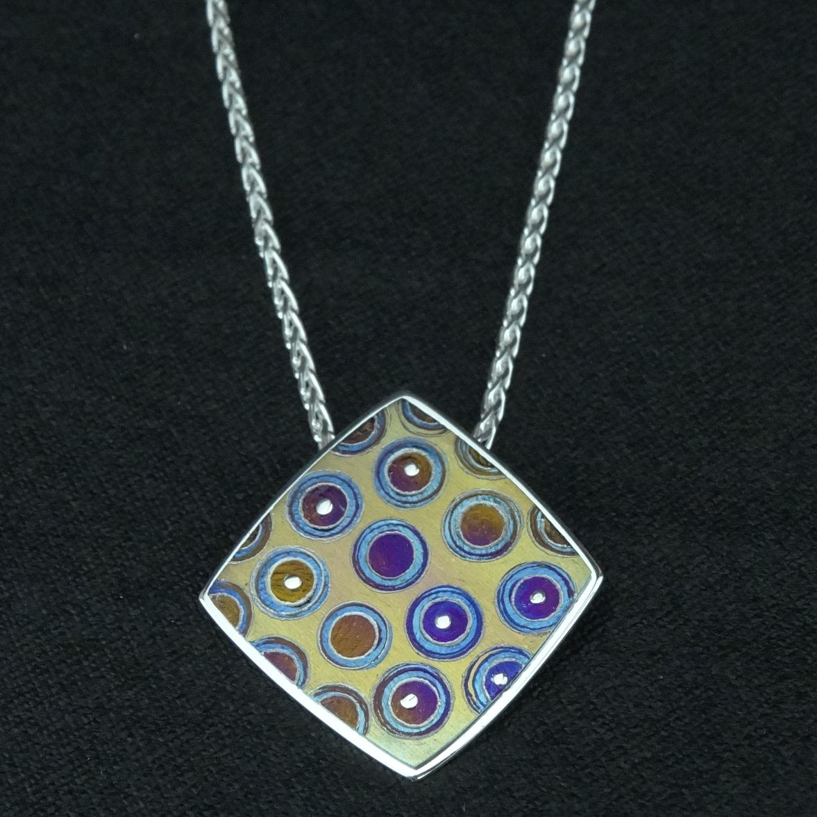 titanium necklace actual boccia products pendant