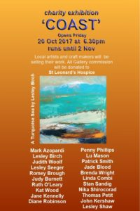 Coast- charity exhibition for the benefit of St Leaonard's Hospice 2017
