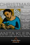 Anita Klein will be at the opening on Sat 2 December