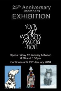 25th Anniversary exhibiton at Pyramid Gallery opens Fri 12 Jan at 6.30pm