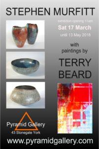Terry Beard and Stephen Murfitt exhibition at Pyramid Gallery