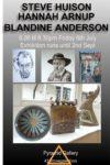 Steve Huison, Hannah Arnup, Blandine Anderson Exhibition