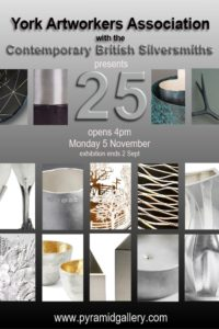 An exhibition of silver by members of the Contemporary Bristish Silversmiths