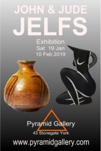 Exhibition by John and Jude Jelfs opens on Sat 19th January 2019