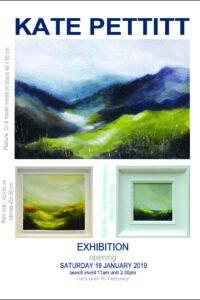 Paintings by KATE PETTITT opens Sat 19th January at 11am