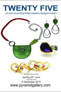 Twenty Five - celebrating twenty five years of promoting British jewellery designer/makers