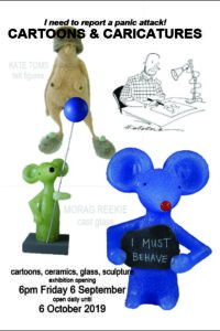 Exhibition of cartoons and caricatures