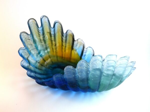 cast glass form