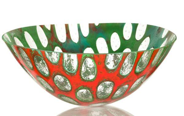 anenome glass bowl