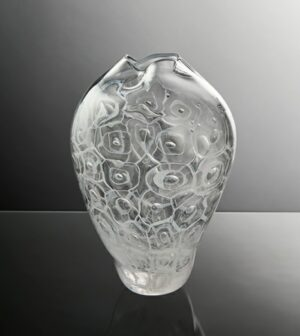 marine sponge glass vessel