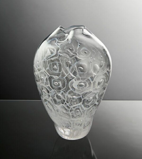 marine sponge glass vessel