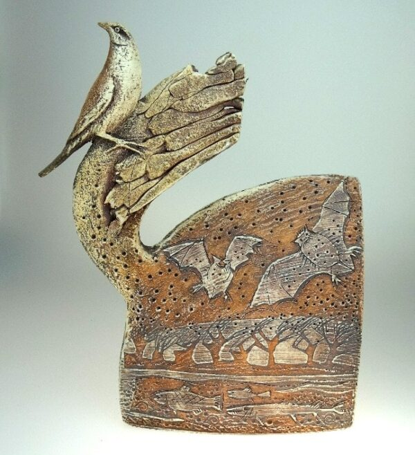 nightingale sculpture