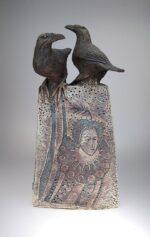 ravens queen sculpture