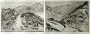 lake district etching