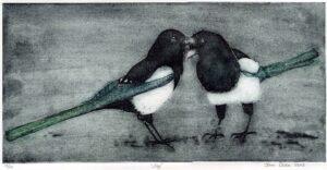 magpies print